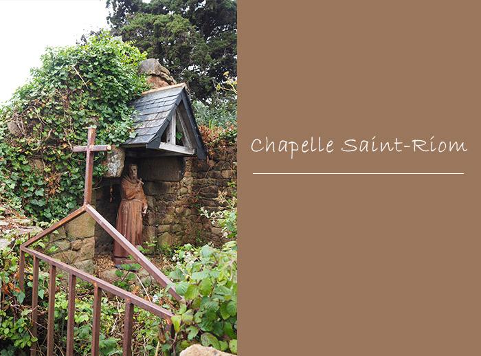 ruines chapelle saint riom brehat