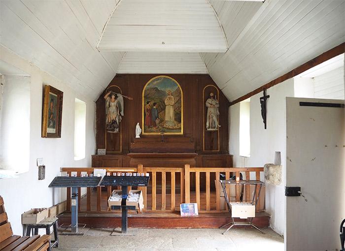 chapelle saint michel brehat ile