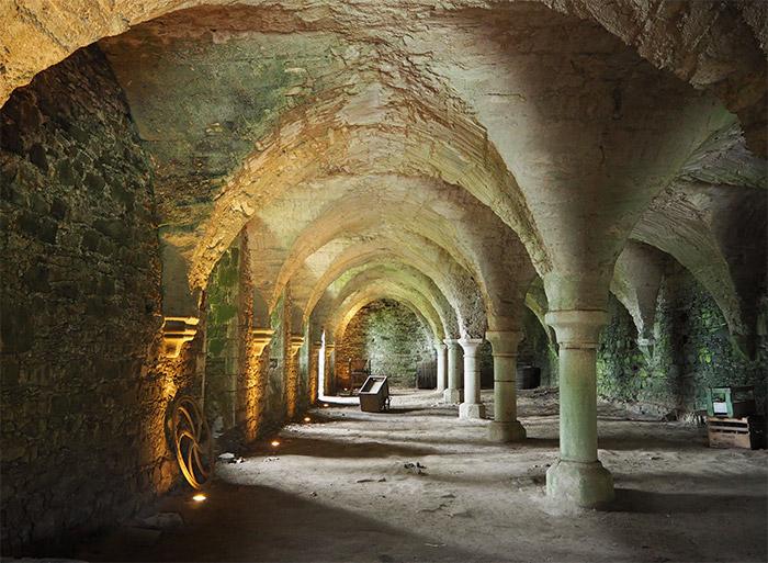 paimpol abbaye beauport refectoire