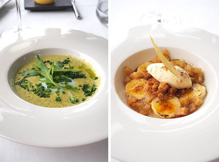 restaurant belouga menu