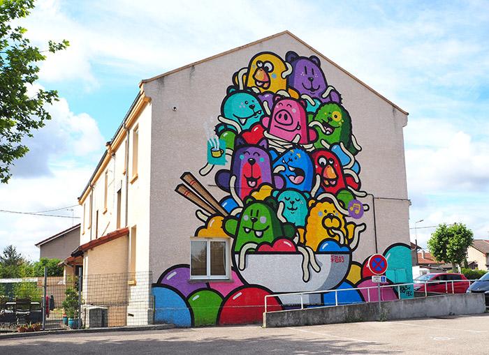 Pec street art safir festival