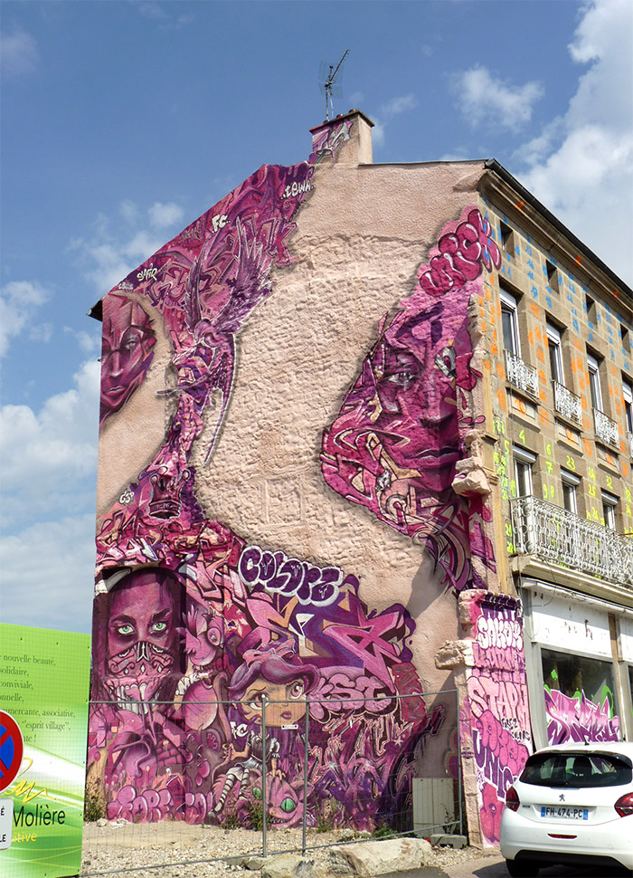 roche moliere forez colors mk crew street art