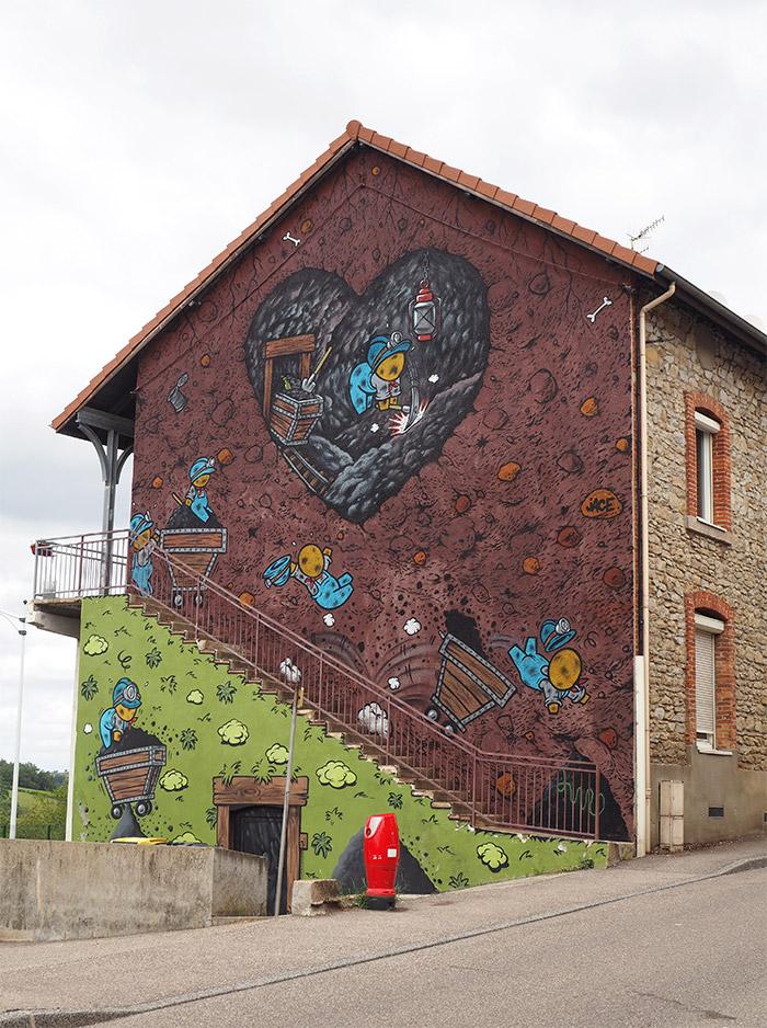 graffiti roche la moliere loire jace