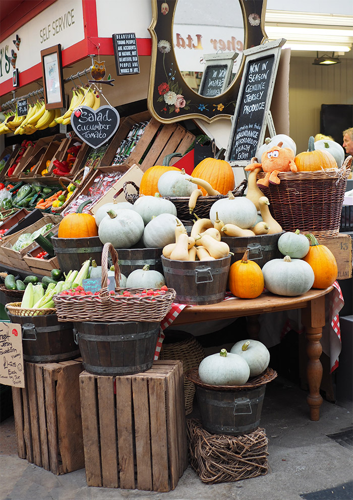 jersey market citrouilles