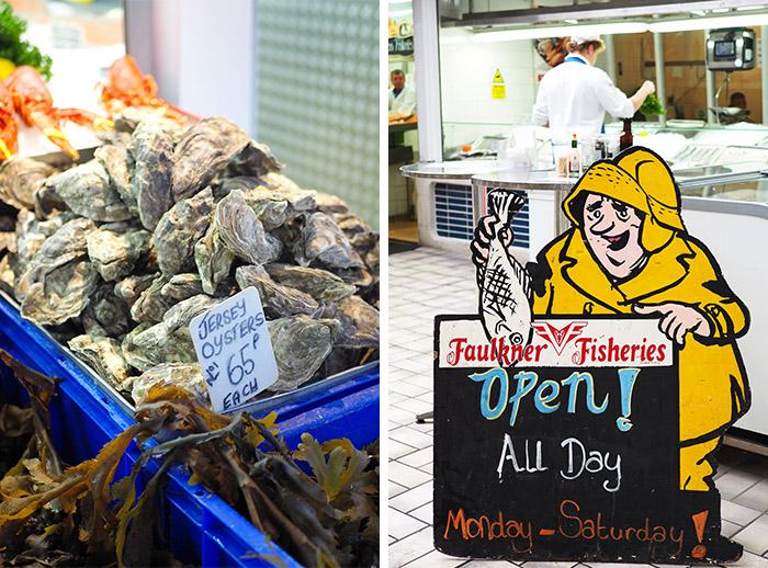 saint helier jersey marché poissons