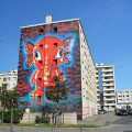 red paint red saves lives lyon elefanka