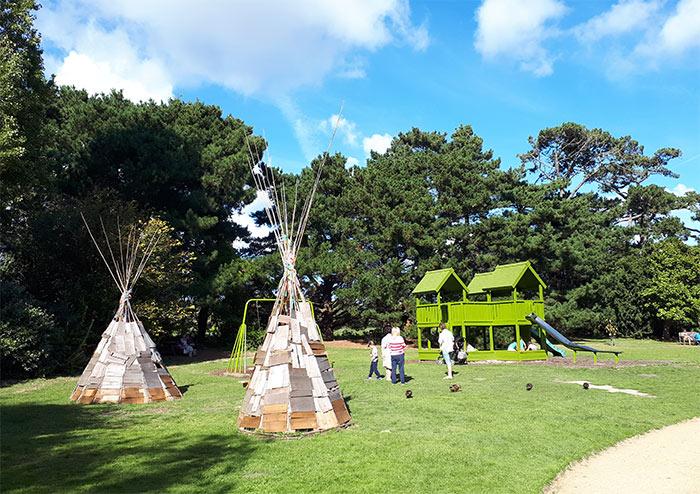 jeux enfants playground samares garden