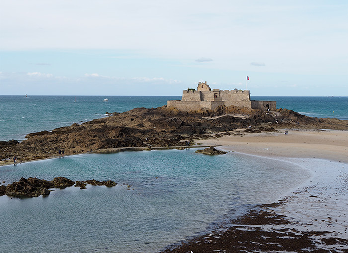 saint malo fort national bretagne