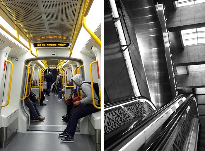 copenhague danemark metro