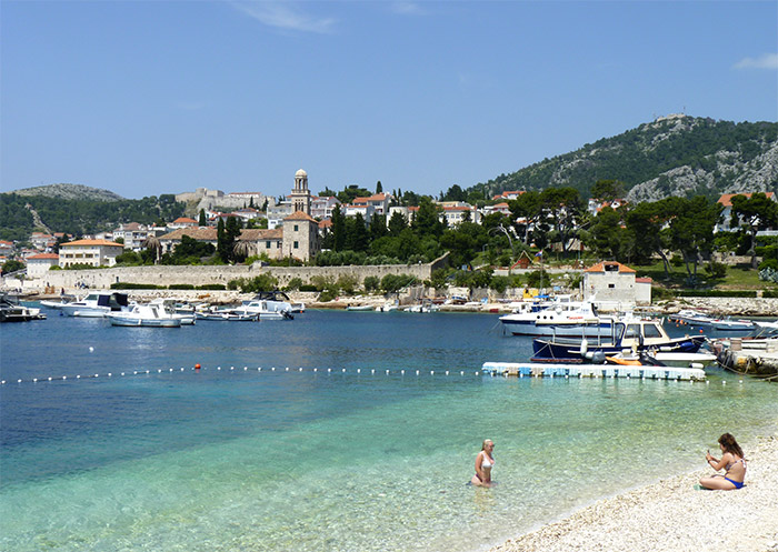 croatie plage hvar