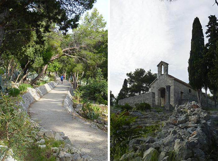 chemin forteresse croatie hvar