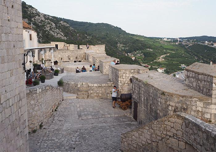 croatie hvar forteresse vue croatie