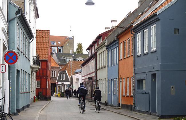danemark aarhus maisons vélo