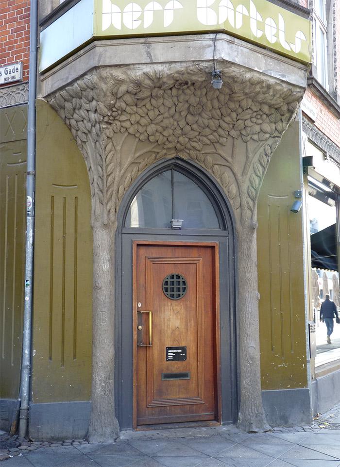 aarhus danemark architecture porte