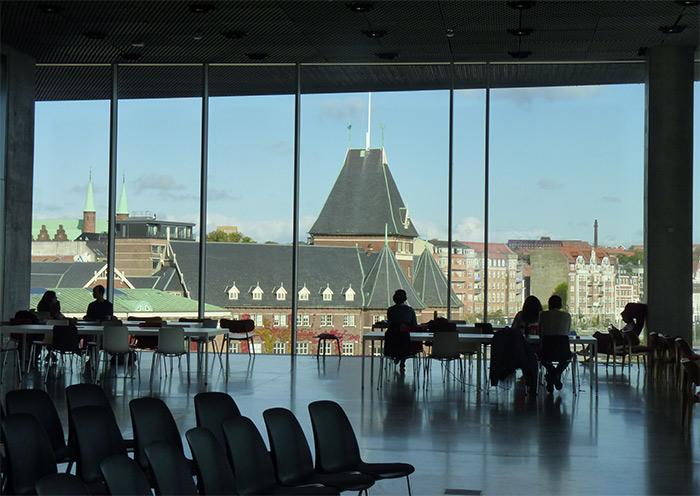 bibliothèque Dokk1 Aarhus Danemark