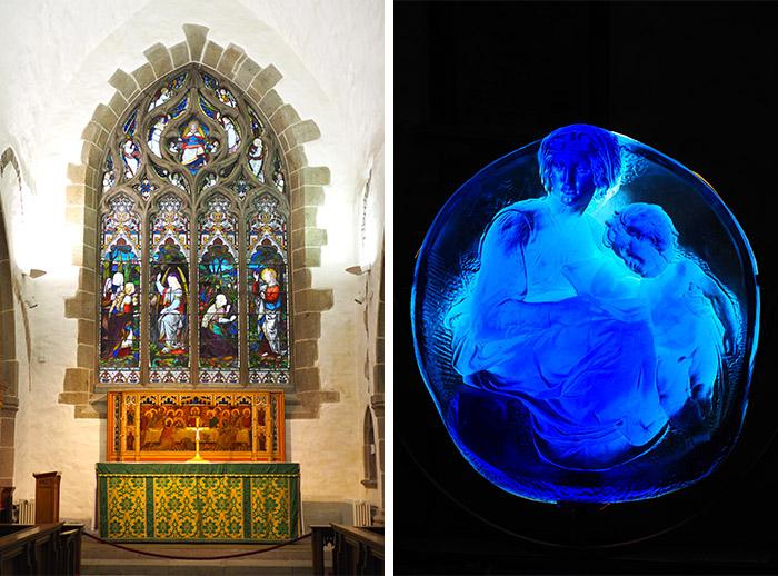 jersey saint helier parish vitrail