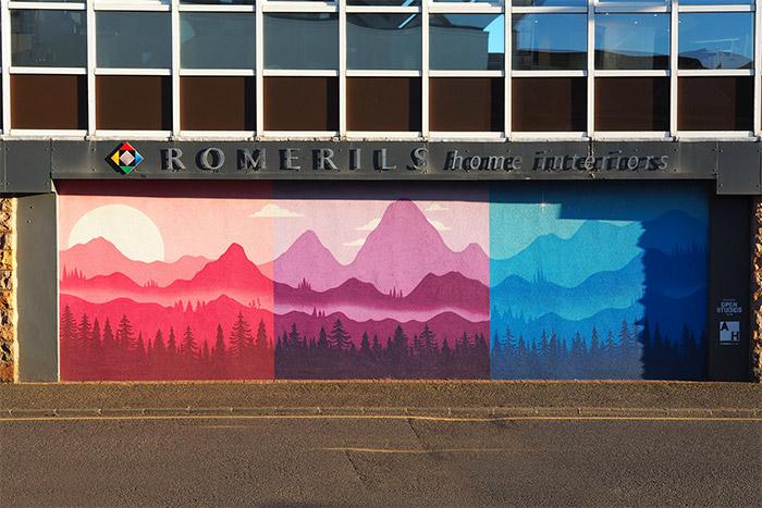mural trail st helier street art