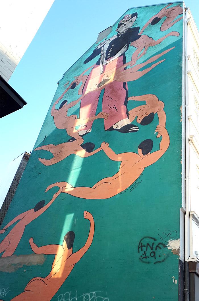 Kowalczyk Andrzej street art aarhus