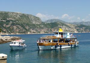 bateau ile lokrum croatie