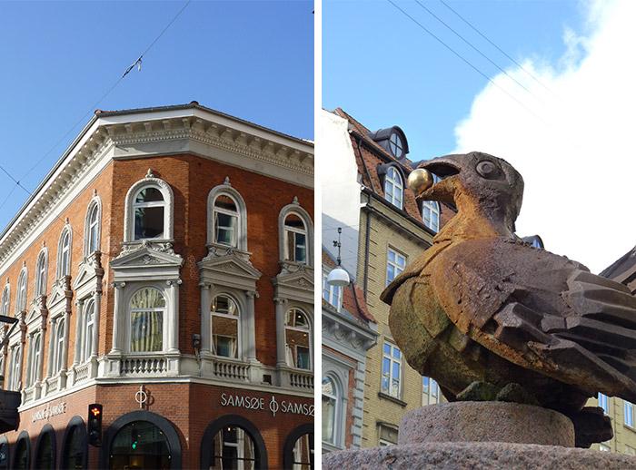 sculpture aarhus oiseau erik heide