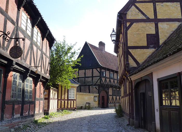aarhus danemark den gamle by