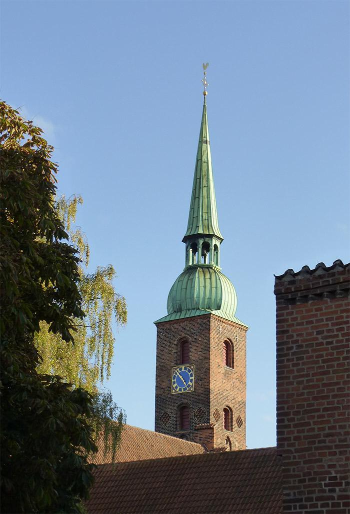 vor frue kirke aarhus danemark