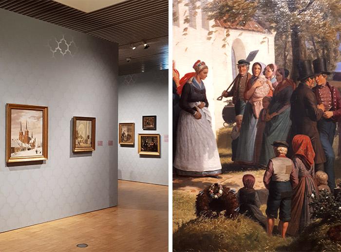 Aarhus AroS peinture musée