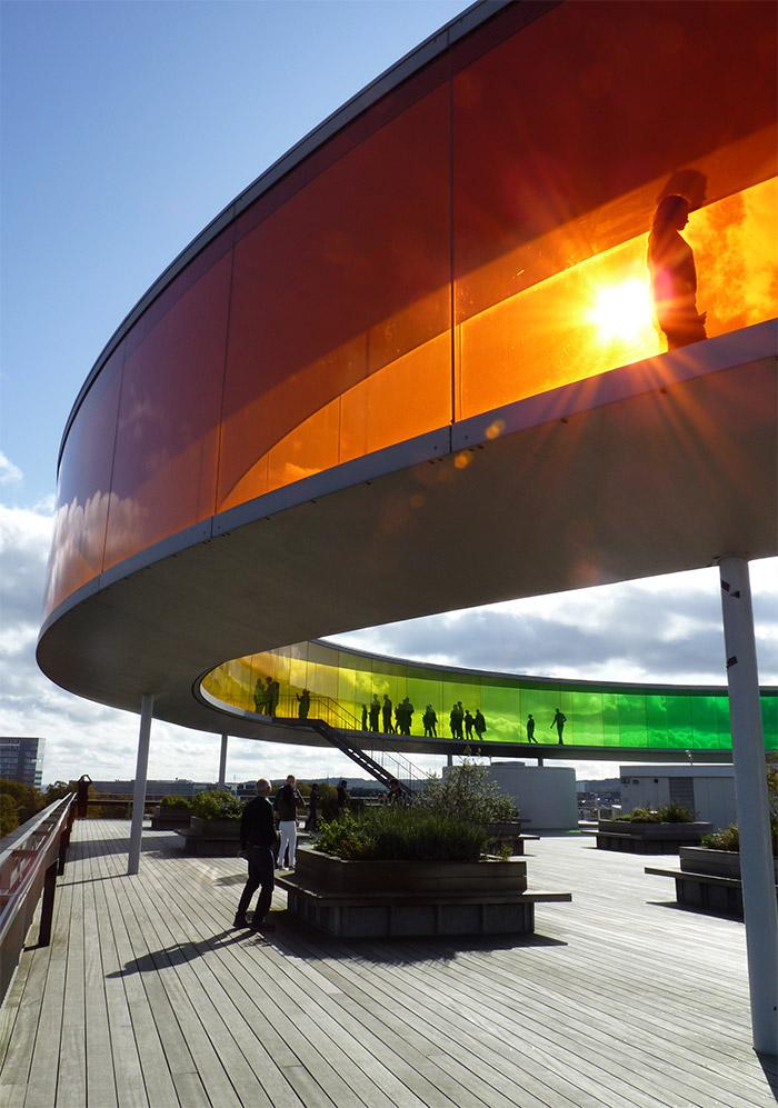 rainbow panorama Olafor Eliasson Aarhus musée