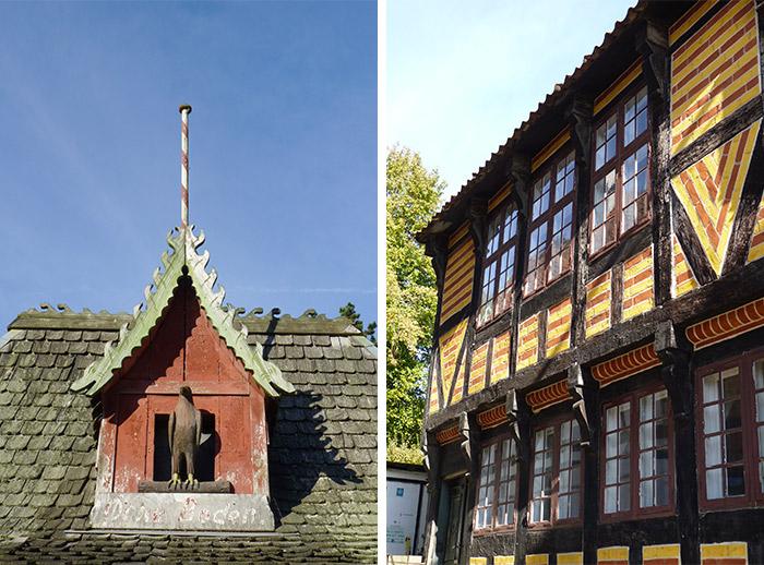 aarhus den gamle by maisons