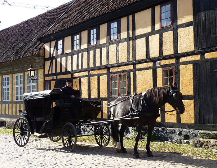 maisons anciennes musée aarhus