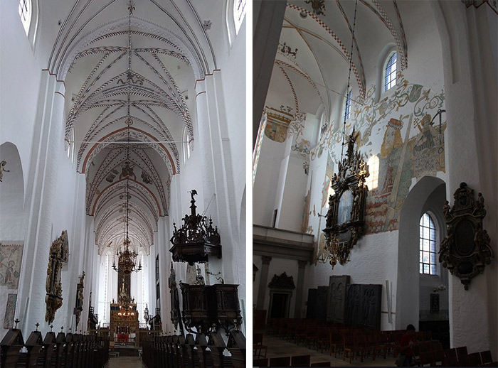 aarhus cathedrale nef