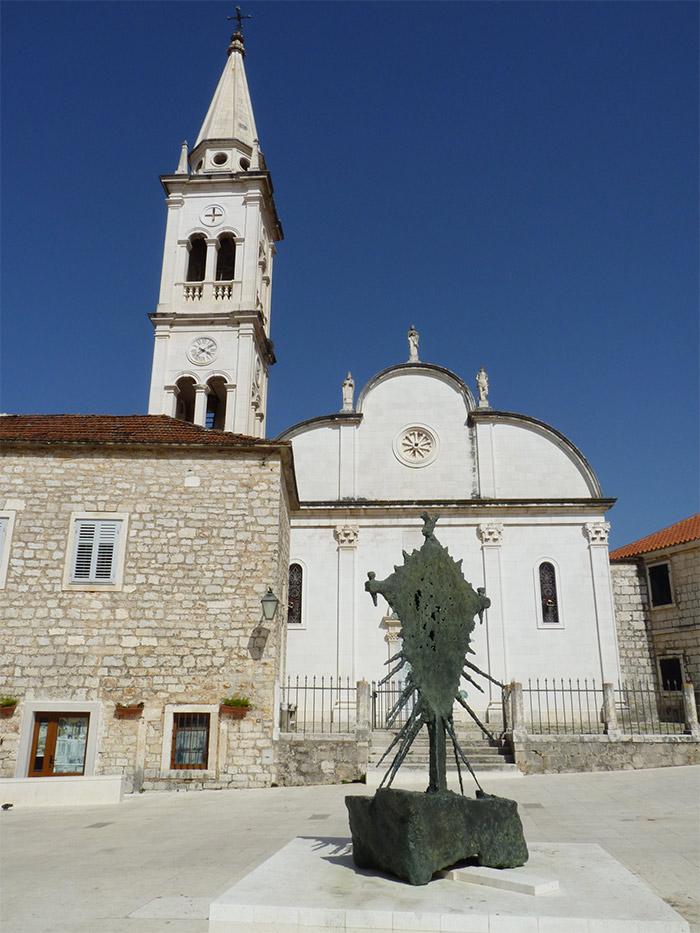 croatie hvar jelsa eglise