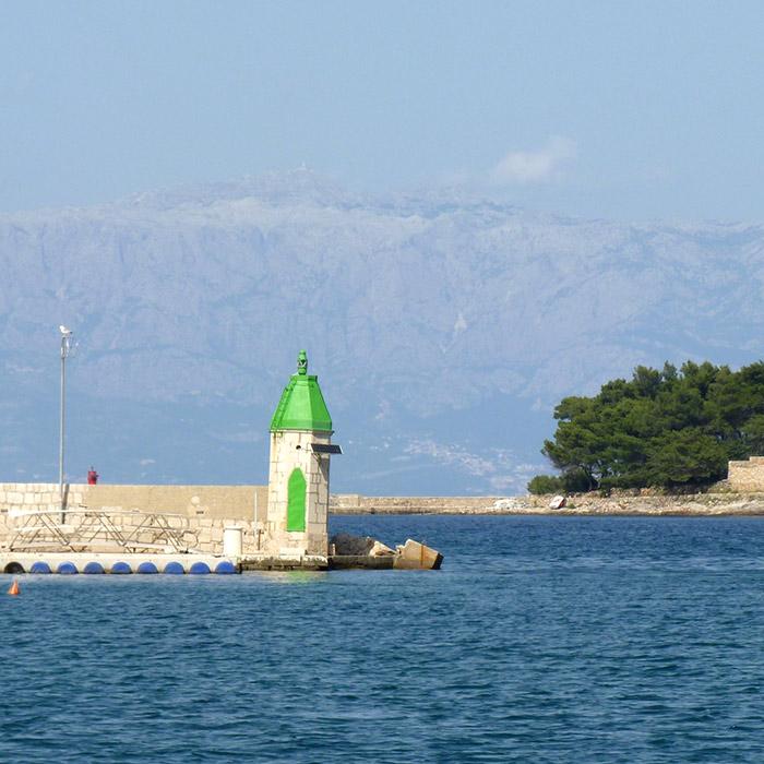 croatie jelsa phare hvar