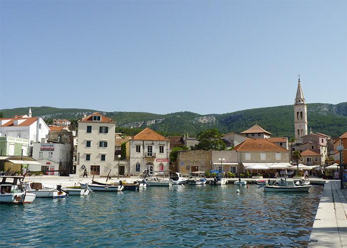 croatie hvar jelsa port