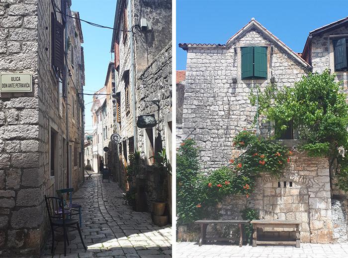 hvar croatie stari grad