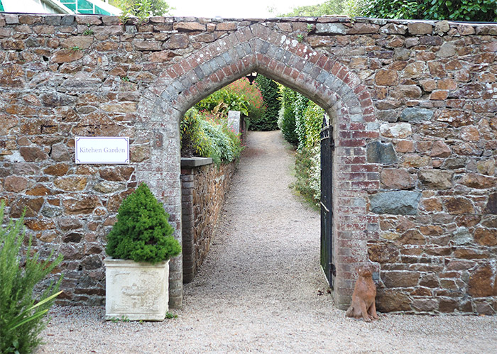 longueville manor kitchen garden