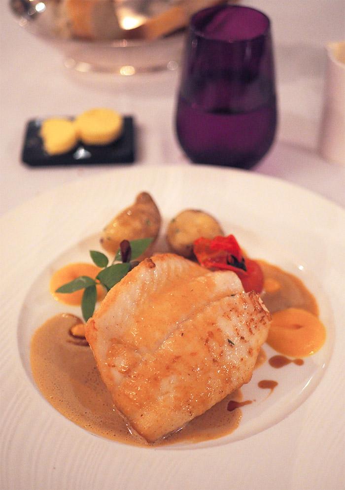 restaurant andrew baird poisson longueville manor
