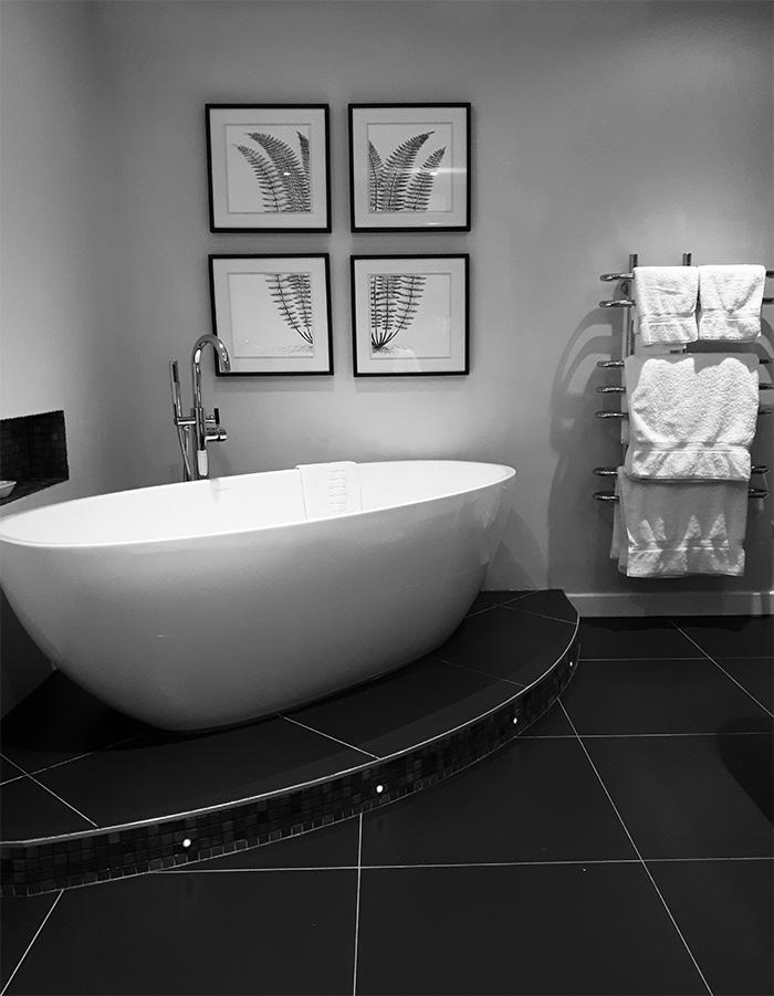 salle bains baignoire longueville manor
