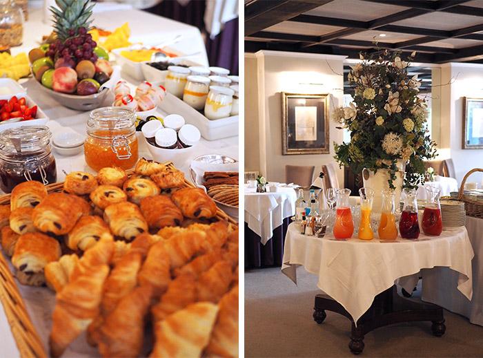 petit dejeuner buffet longueville manor