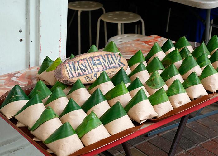 nasi lemak malaisie