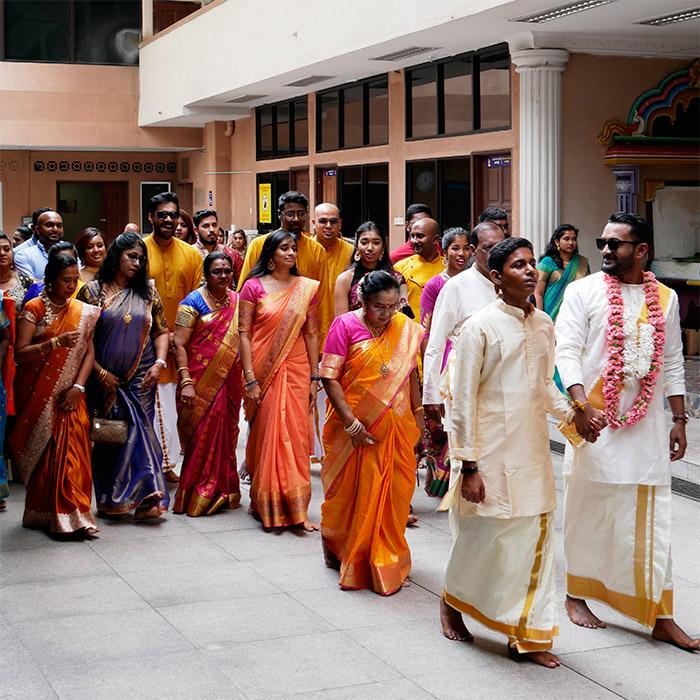 ceremonie hindou kuala lumpur temple