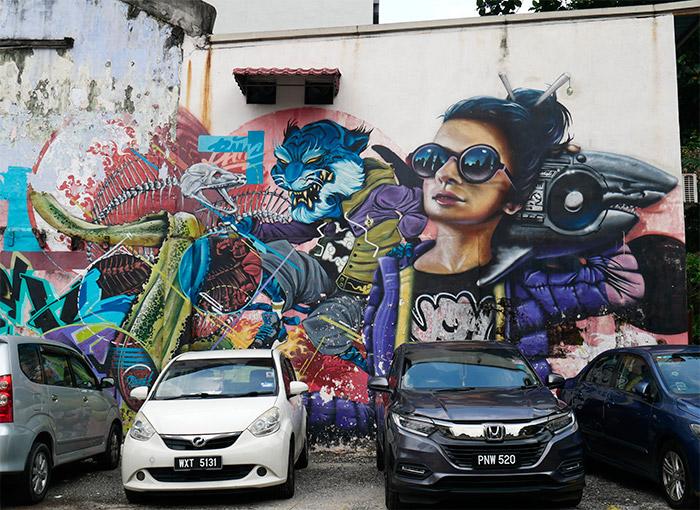 street art malaisie kuala lumpur