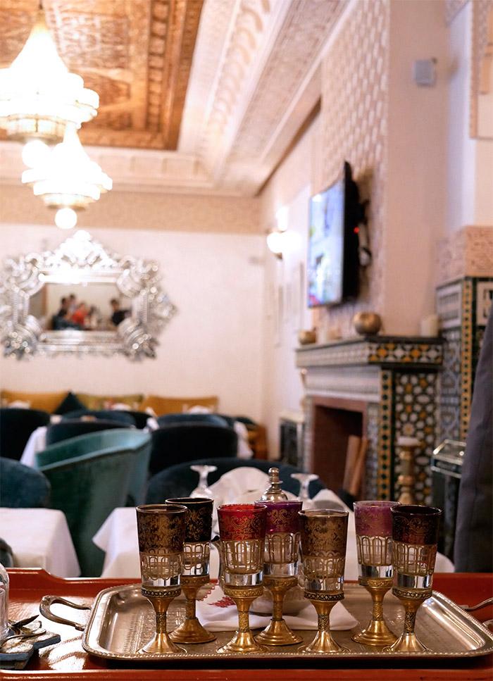 palais zahia restaurant tanger