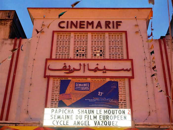 cinema rif tanger maroc