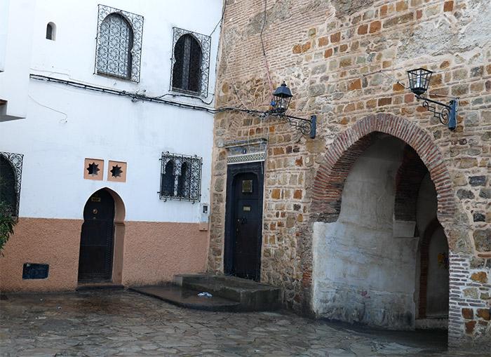 porte bab al kasbah tanger maroc
