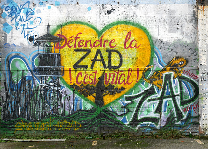 redon art street friche ZAD