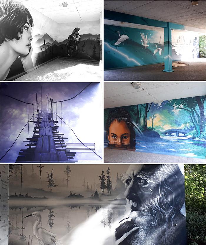aero street art rennes