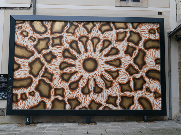 rennes le mur rue vasselot art street