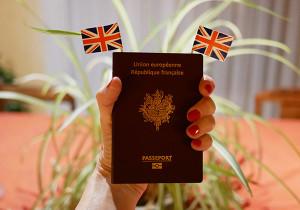 passeport français angleterre