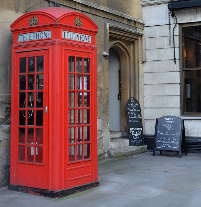 Londres cabine telephonique rouge